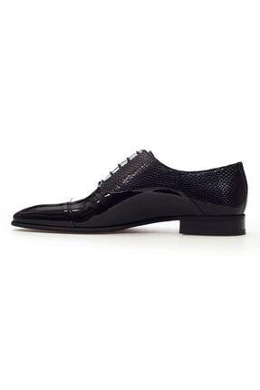 MARCOMEN Siyah Rugan Hakiki Deri Bağcıklı Erkek Klasik Ayakkabı • A20eymcm0002 2