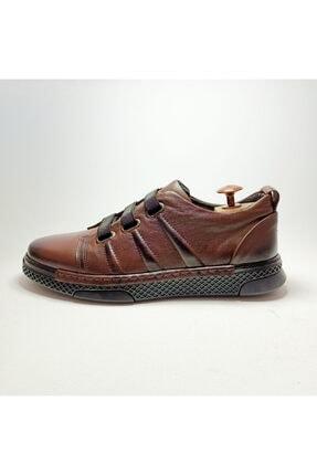Ayakkabium Erkek Kahverengi Sneaker Günlük Ayakkabı 1
