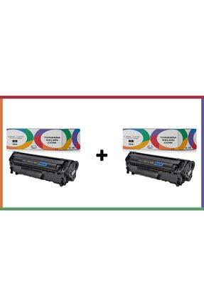 HP 12a - Q2612a 2li Paket Toner - Laserjet 1020 Toner 0