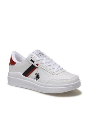 US Polo Assn BERKELEY WMN Beyaz Kadın Sneaker Ayakkabı 100604573 0