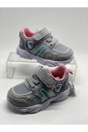 Jump Unisex Gri Bebek Spor Ayakkabı 0