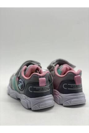 Jump Unisex Gri Bebek Spor Ayakkabı 2