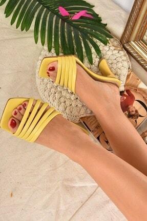 Fox Shoes Kadın SarıTerlik K494566309 0