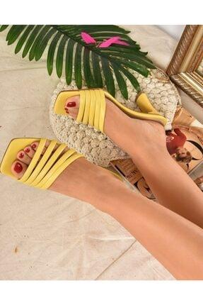 Fox Shoes Kadın SarıTerlik K494566309 1