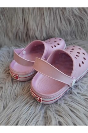 Akınalbella Kız Çocuk Pudra Renk Crocs Terlik 3