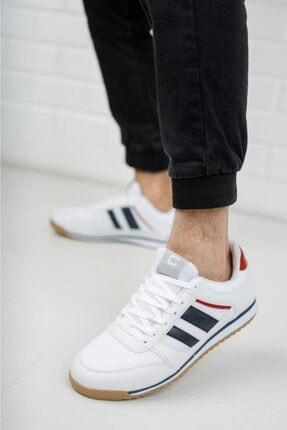 Moda Frato Erkek Beyaz  Sneaker Xstreet 655 2