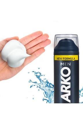 Arko Men Men Tıraş Köpüğü Cool 4x200ml 1