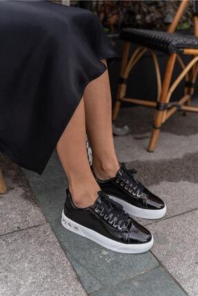 ANGELİNA JONES Gassama Siyah Sneaker Kadın Ayakkabi 0