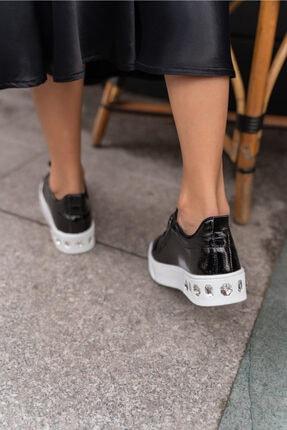 ANGELİNA JONES Gassama Siyah Sneaker Kadın Ayakkabi 2