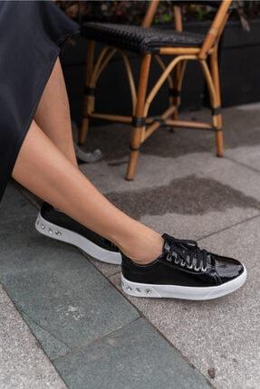 ANGELİNA JONES Gassama Siyah Sneaker Kadın Ayakkabi 3