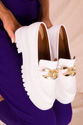 Soho Exclusive Beyaz Kadın Casual Ayakkabı 15993 2