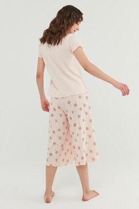 Penti Kadın Açık Pembe Ixia Pointel Tişört 4