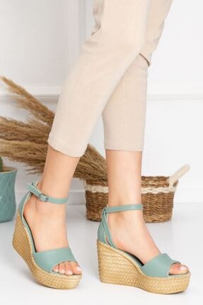 derithy Dolgu Topuklu Ayakkabı 4