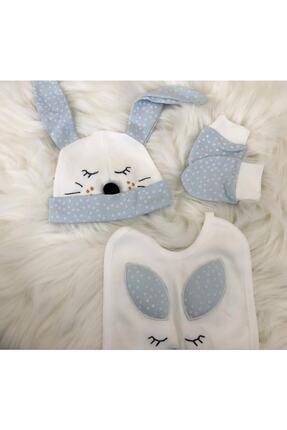 Gaye Erkek Bebek Beyaz Bebek 5'li Hastane Çıkışı Seti 100763 2
