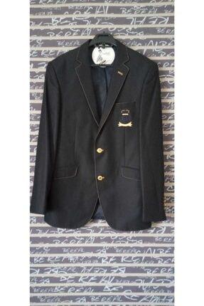 Erkek Lacivert Blazer Ceket ZD303