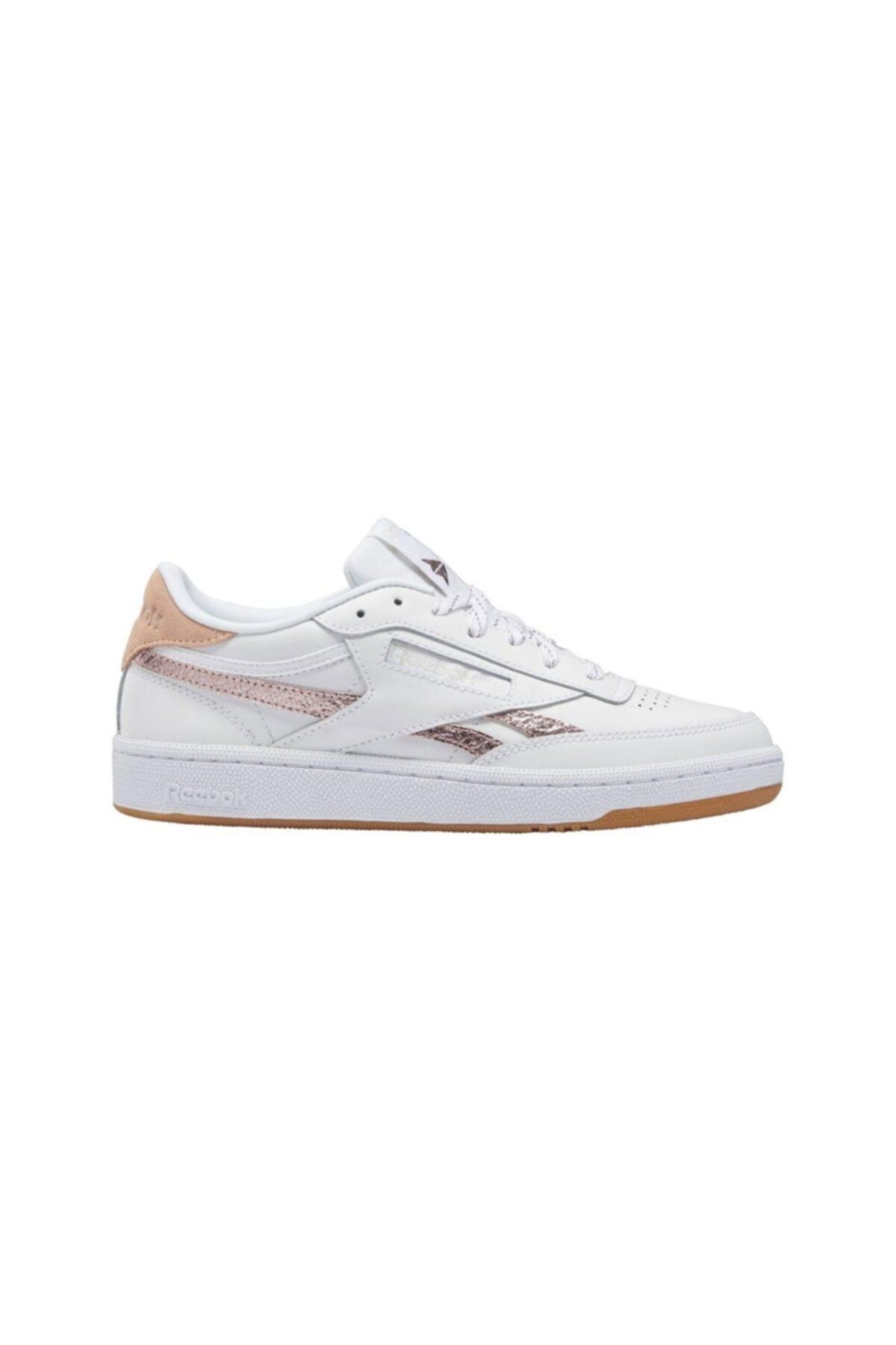 Kadın Beyaz Günlük Spor Ayakkabı Club C 85
