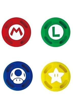Nintendo Switch Super Mario Joycon Analog Başlıkları Lisanslı 0