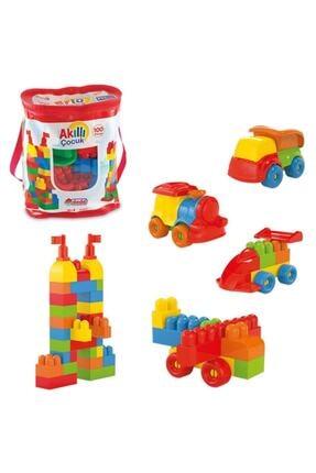 DEDE Akıllı Çocuk Lego 100 Parça 2