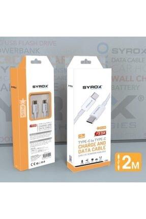 Syrox Type-c To Type-c 2metre Kablo 0