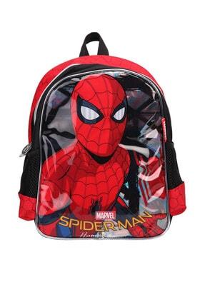 Spiderman 89351 Kırmızı Siyah Erkek Çocuk Okul Çantası 100289865 0