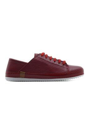 Kadın Kırmızı Hakiki Deri Casual Ayakkabı 21y Ykm 173 Z 21Y YKM-173 Z