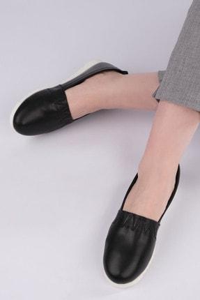 Marjin Kadın Siyah Hakiki Deri Comfort Ayakkabı Tilev 2