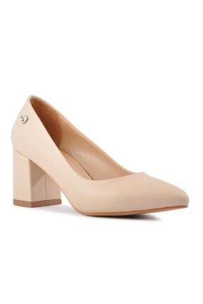 Pierre Cardin Kadın Bej Topuklu Ayakkabı 2