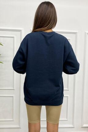 Eka 0939-0231 Broklyn Baskılı Şardonlu Sweatshirt 3