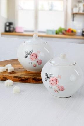 Keramika Gül Trend Şekerlik 10 Cm 2 Adet 0