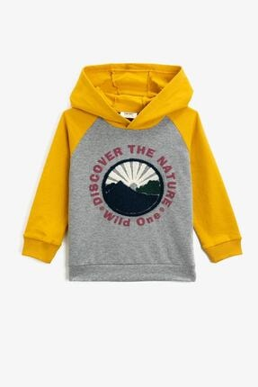 Koton Gri Erkek Çocuk Sweatshirt 0