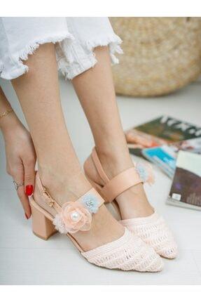 Kadın Pembe Topuklu Ayakkabı 210Y0176 PEMBE