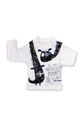Hippıl Baby Erkek Bebek Gri Şişme Yelekli 3 Lü Bebek Takımı 3035 3