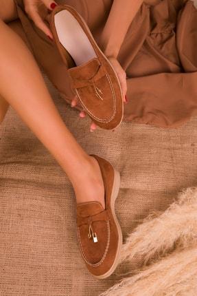 Soho Exclusive Taba Süet  Kadın Casual Ayakkabı 16038 1