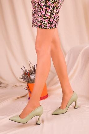 Soho Exclusive Yeşil  Kadın Klasik Topuklu Ayakkabı 15953 2
