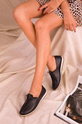 Soho Exclusive Siyah Mat  Kadın Casual Ayakkabı 16017 1
