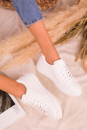 Soho Exclusive Beyaz Kadın Sneaker 14395 4
