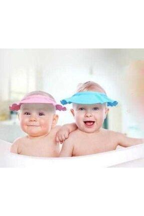 Zeki Karga 0-5 Yaş Çocuklar Için Düğmeli Su Kaçırmaz Bebek Banyo Duş Şapkası 3