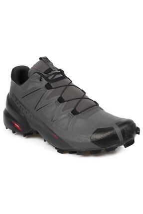 409680 M Speedcross 5 Erkek Gri Ayakkabı resmi