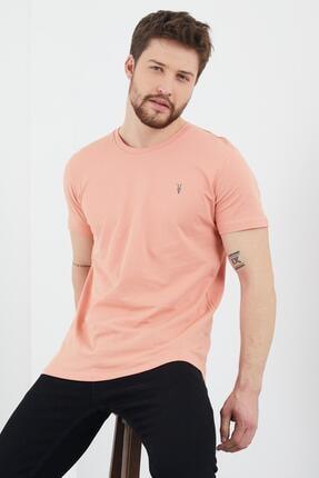 Enuygunenmoda Erkek Slim Fit Basic T-shirt 5'li 2