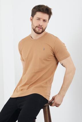 Enuygunenmoda Erkek Slim Fit Basic T-shirt 5'li 4