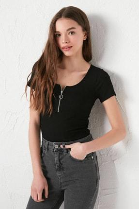 LC Waikiki Kadın Yeni Siyah Bluz 1