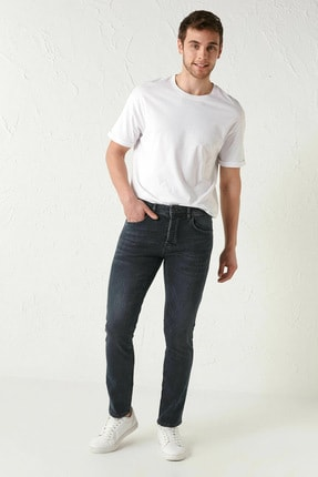 LC Waikiki Erkek Koyu Rodeo Jeans 1