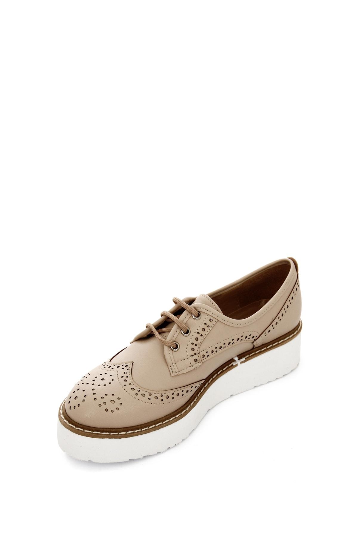 GÖNDERİ(R) Ten Kadın Günlük (Casual) Ayakkabı 38911 4