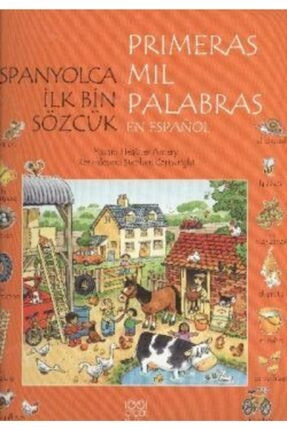 1001 Çiçek Kitaplar Ispanyolca Ilk Bin Sözcük - Primeras Mil Palabras En Espanol 0