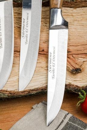 Gezgin Bıçak Premium Paslanmaz Çelik 5 li Kasap Ve Mutfak Bıçağı Seti 3