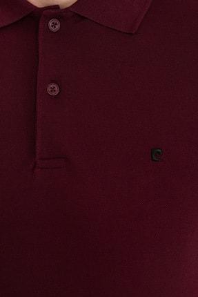 Pierre Cardin Bordo Slim Fit Basic Polo Yaka T-Shirt 4