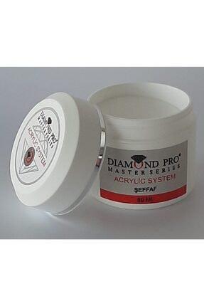 DIAMOND PROFESSIONAL Protez Tırnak Oluşturucu Akrilik Toz Şeffaf 50ml 2