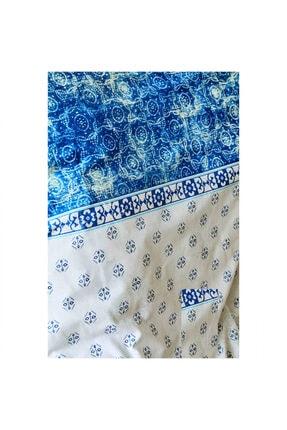 Karaca Home Costa Mavi Pamuk Çift Kişilik Nevresim Takımı 1