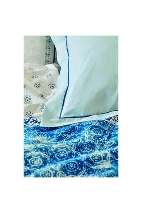 Karaca Home Costa Mavi Pamuk Çift Kişilik Nevresim Takımı 2