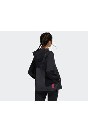 adidas Kadın Günlük Sweatshirts Gn4736 Siyah Cny Hoody 3